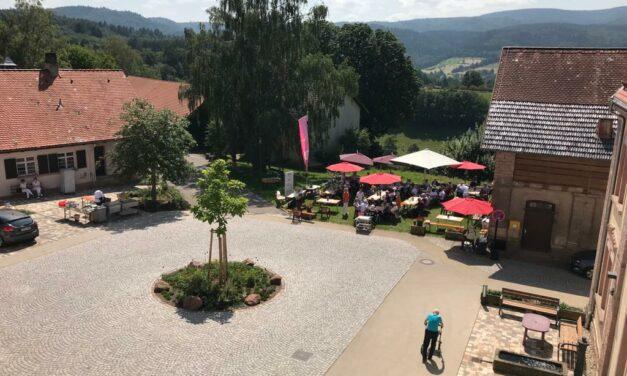 Sommerfest für die Bewohner des Pflegeheims Schafberg in Lichtental