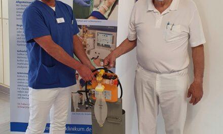 Ortenau Klinikum Achern-Oberkirch spendet Beatmungsgerät für Hilfsaktion in Afrika