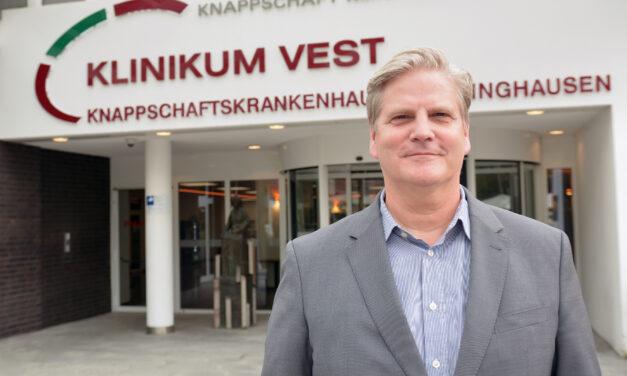 Klinikum Vest: Sönke Thomas ist neuer Kaufmännischer Direktor am Klinikum Vest