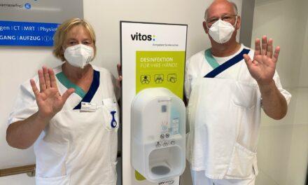 Saubere Hände: Hohe Hygiene-Auszeichnung für die Orthopädische Klinik