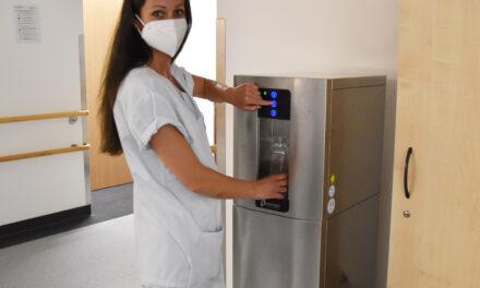 Unimedizin Rostock: neue Wasserspender installiert