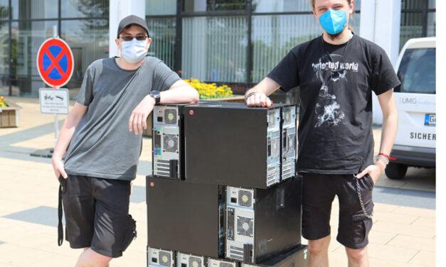 Herzzentrum der UMG spendet Computer