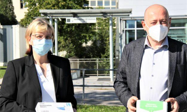 OP – Masken Spende an das Klinikum St. Elisabeth