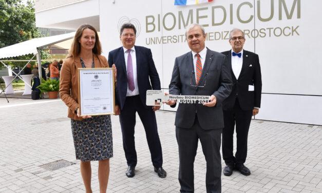 Biomedicum auf dem Campus Schillingallee feierlich übergeb